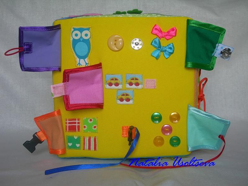 Развивающие игрушки для детей 1-3 лет своими руками 38